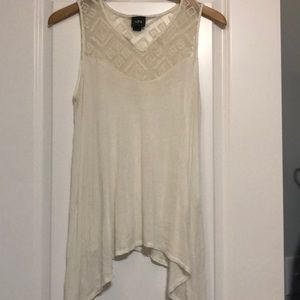 Boutique White, Flowy Top
